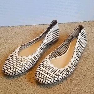Chloe Scalloped Sandals
